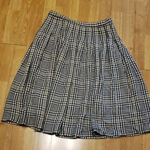 VTG Pendleton plaid pleated skirt sz 16
